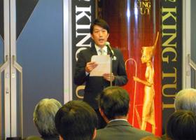 協賛各社を代表して、桧家ホールディングス 代表取締役、近藤昭の挨拶